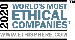 Ethisphere's badge/icon for 2020's World's Most Ethical Companies